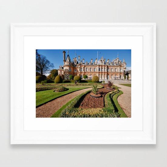 Waddesdon Manor Framed Art Print