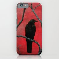 iPhone & iPod Case featuring The Color Red by The Strange Days Of Gothicolors