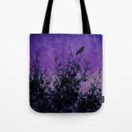 Raven Sentinel Tote Bag