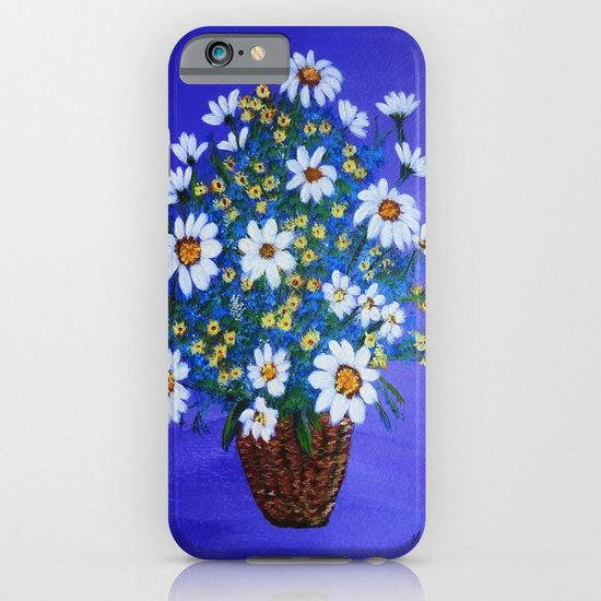 Flowers in the basket iPhone & iPod Case