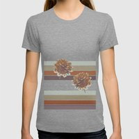 Rusty Womens Fitted Tee Tri-Grey SMALL