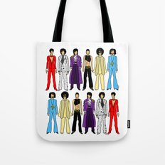 Outfits of Prince Fashion on White Tote Bag