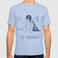 The Runaway 2 Mens Fitted Tee Athletic Blue SMALL