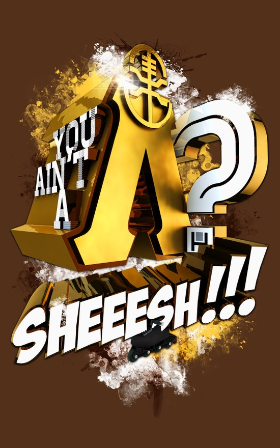 You Ain't A Lambda? SHEEESH!!! Art Print