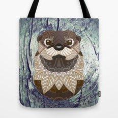Ornate Otter Tote Bag