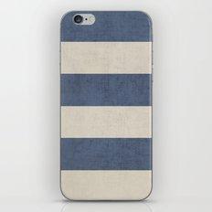 Vintage Dark Blue Stripe… iPhone & iPod Skin