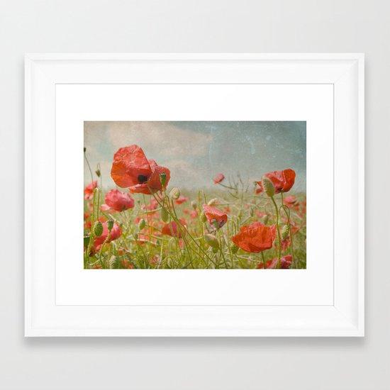 memories of summer I Framed Art Print
