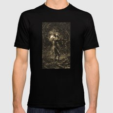 KING LEAR Mens Fitted Tee Black SMALL