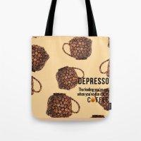 Depresso Tote Bag
