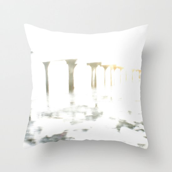 Of Fading Dreams Throw Pillow