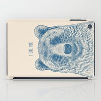 Bear (Ivory) iPad Case