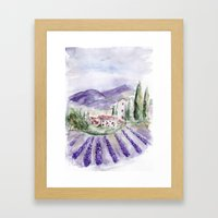 Provence Framed Art Print