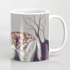 Deer in the forest Mug