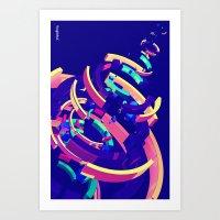 Wistful #2 of 4 Art Print