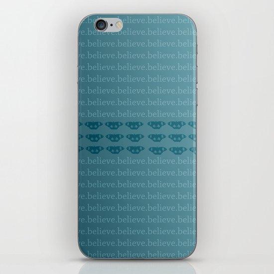 Believe Butterflies iPhone & iPod Skin