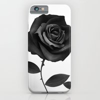 iPhone Cases featuring Fabric Rose by Ruben Ireland