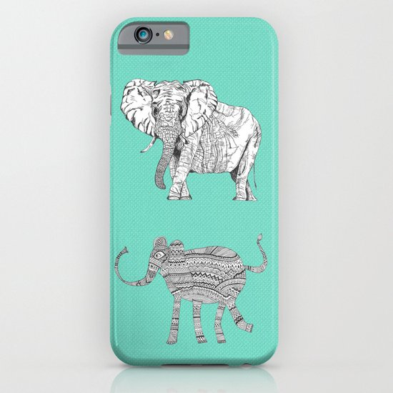 two ways to see one elephant iPhone & iPod Case