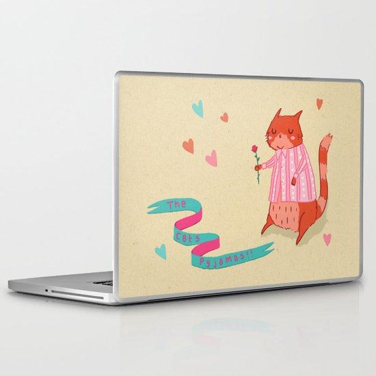 The Cat's Pyjamas Laptop & iPad Skin