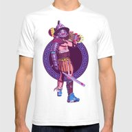 Street Warriors - Gladia… Mens Fitted Tee White SMALL