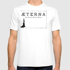 Æterna Mens Fitted Tee SMALL White