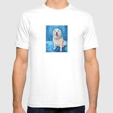 Jackson SMALL White Mens Fitted Tee