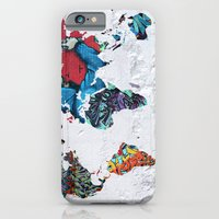 Map Of The World  iPhone 6 Slim Case