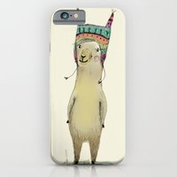 iPhone & iPod Case featuring Llama by Paola Zakimi