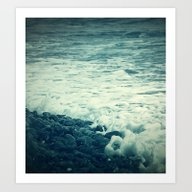 The Sea V. Art Print