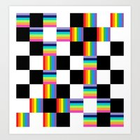 Chessboard 2013 Art Print