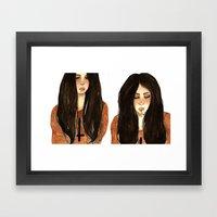 RUBIA Framed Art Print