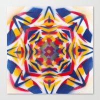 Bluestarredbox Canvas Print