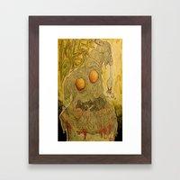 Killer Pasta Framed Art Print