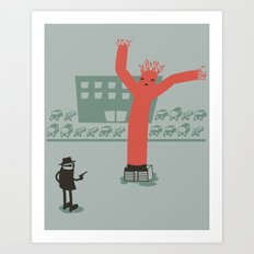 Highway Robbery Art Print