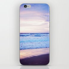 Purple Sunset over Hermosa Beach, Los Angeles  iPhone & iPod Skin