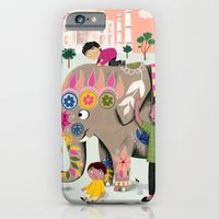 iPhone & iPod Case featuring India by ilana exelby