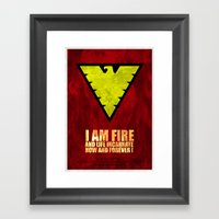 X-Men: Dark Phoenix - I … Framed Art Print