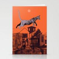 Backyard Jungle Stationery Cards