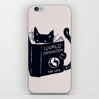 World Domination For Cat… iPhone & iPod Skin