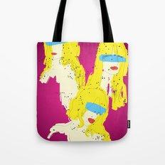 3 Woman Tote Bag