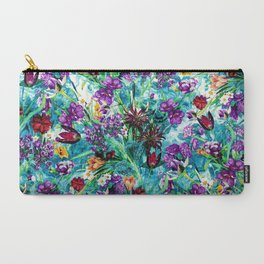 Carry-All Pouch - Floral Jungle - RIZA PEKER