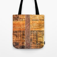 Wood Abstraction Tote Bag
