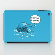 Find Your Porpoise iPad Case