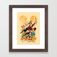 Fun In Colors Framed Art Print