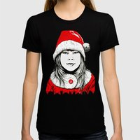 Snow-maiden Womens Fitted Tee Black SMALL
