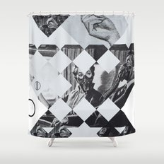 Clear sky Shower Curtain
