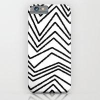 Graphic_Chevron freehand iPhone 6 Slim Case