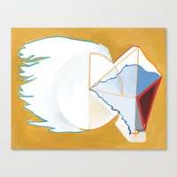 Abstract Painting 7744 Canvas Print