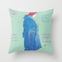 Pardo' Throw Pillow