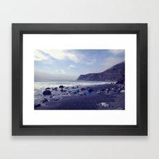 coastal dream Framed Art Print
