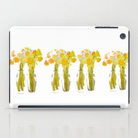 Daffodils Watercolor iPad Case